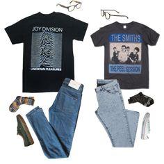 Post-Punk Couple - Polyvore