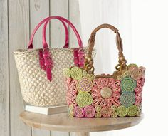 Carry a bit of sunshine with #bright  #embellished handbags #SteinMart