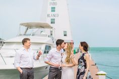 """Say """"I Do"""" at Faro Blanco Resort & Yacht Club with a historic Lighthouse as your backdrop! #FaroBlanco #Historic #Lighthouse #Wedding #IDO #Nautical #FLKeys"""