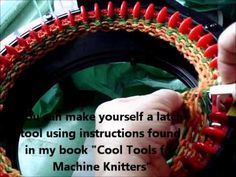 ▶ Fixing a dropped stitch on the Addi with the work still on the machine - YouTube