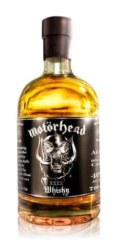 Motörhead Whisky 0,7L (40% Vol.) // http://www.rock-drinks.de/Whisky/Motoerhead-Whisky-07L-40-Vol::2527.html