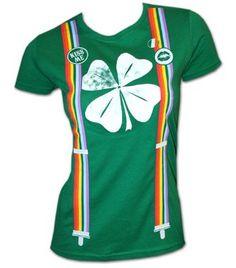 ecce6622c Girls Irish Suspenders t-shirt: this Irish suspenders t shirt is perfect as  a girl's Saint Patricks Day t-shirt! A Ripple Junction creation.