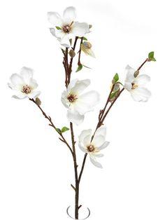 Artificial Magnolia Branch