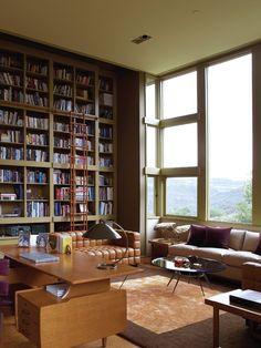 Studio Harold English House, Modern Office and Study, Kay Kollar Design