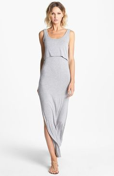 Lovers + Friends 'Hello Goodbye' Racerback Tank Maxi Dress available at #Nordstrom