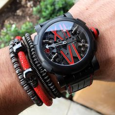 RJ Romain Jerome - Black + RED...