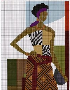 Africana e jarro 01
