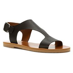 Lucky Brand Womens Devyn Sandal Black Size 85 >>> Details can be found by clicking on the image.(This is an Amazon affiliate link and I receive a commission for the sales)