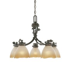 Timberline 5 Light Chandelier | Wayfair