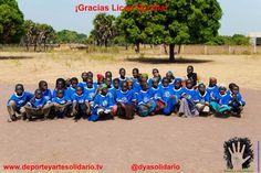 www.deporteyartesolidario.tv Chad (África) Expedición enero 2013 Agradecimientos colaboradores Liceo Sorolla