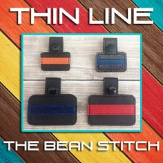 Thin Line - Includes 2 Sizes in 2 styles!