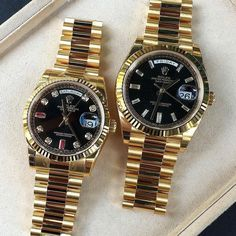 ROLEX His & hers DAY DATE & DAY DATE 40