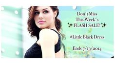 LEVIXEN Little Black Dress!  ♥ MUST HAVE wardrobe essential!♥   Save up to 30% OFF with our FLASH SALE!!  >>>>>>>> ENDS 7/13