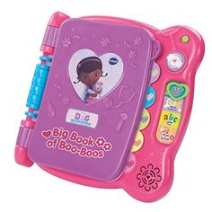 It's interactive learning fun with Doc McStuffins! Get learning with the Disney Doc McStuffins Discover & Learn Big Book of Boo-Boos by VTech Touch the .