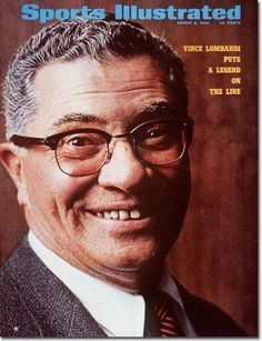 Vince Lombardi (1913-1970) Legendary Green Bay Packers coach on cover of March 3, 1969 Sports Illustrated Magazine