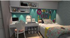 #Room #GirlsRoom #Bed