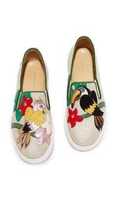 Charlotte Olympia Bird Sneakers