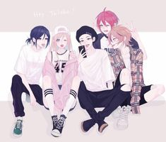 Marvelous Learn To Draw Manga Ideas. Exquisite Learn To Draw Manga Ideas. Anime Group Of Friends, Anime Best Friends, Friend Anime, Anime Siblings, Anime Couples, Guerra Ninja, Base Anime, Anime Friendship, Sarada Uchiha