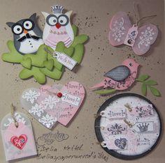 Stampin UP! Card Candy Swap für das Kick Off 2011 | Deliaspaperworld