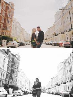 Portobello Road, Notting Hill, London Alternative Wedding Photographer, Engagement Shoot