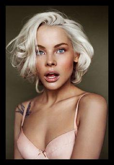 platinum blonde hair on dark skin - Google Search