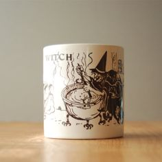 Vintage Witch Halloween Mug by DipperVintage on Etsy