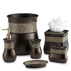 Morillo Tuscan Gold Wastebasket - Bed Bath & Beyond