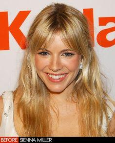 Perfect Sienna Miller Hair