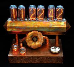 * Steampunk Nixie Clock *