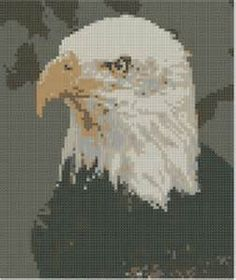 pinterest cross stitch eagle patterns free - Bing Images