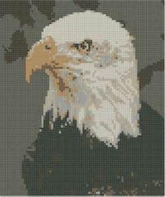 pinterest cross stitch eagle patterns free - Bing Images