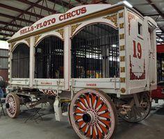 Circus parade wagon {circus} An Elephant Healed Me (8/8