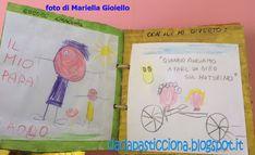 Crescere, creare e divertirsi nella scuola dell'infanzia. Il luogo di incontro per genitori, insegnanti ed educatori Fathers Day, Bullet Journal, Education, Cover, Books, Crafts, Art, Gift, Spring