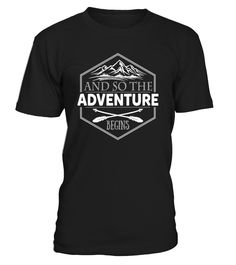 Camp Shirts And So The Adventure Begins
