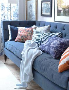 Can't beat a big sumptuous sofa...