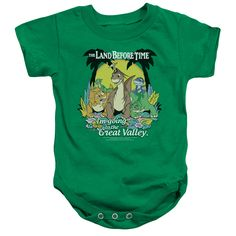 Land Before Time/Great Valley-Kelly Green