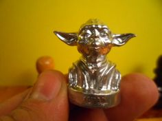 Check out this item in my Etsy shop https://www.etsy.com/ru/listing/490358156/yoda-figure-yoda-silver-yoda-metal