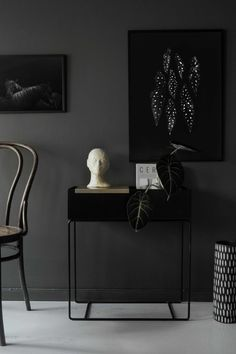 12 Dark interiors done right - via Coco Lapine Design blog