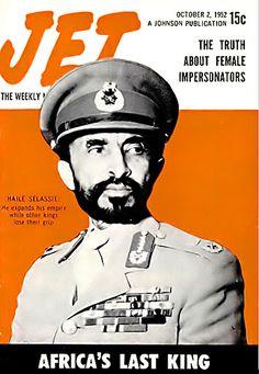 Haile Selassie, Africa's Last King - Jet Magazine, October 3, 1952
