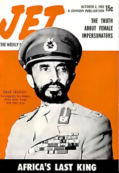 Haile Selassie, Africa's Last King - Jet Magazine, October… | Flickr