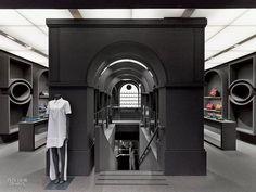Gray Area: Viktor & Rolf's Paris Flagship by Architecture & Associés