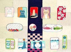 Kintaro Ishikawa, Lovely Animals  on ArtStack #kintaro-ishikawa #art