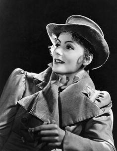 """Greta Garbo. """"Conquest"""", 1937."""