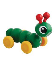 Look what I found on #zulily! BRIO Wood Caterpillar Toy by BRIO #zulilyfinds