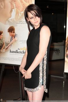 """The Yellow Handkerchief premiere Feb2010/ I know a lot of people don't like her hair like this - but I kinda do. And this dress is win. her legggggs......gah!  """"I can't be anyone but myself, man."""""""
