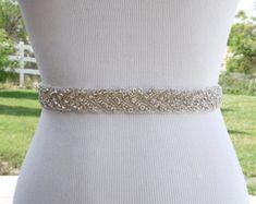 Marco nupcial correa boda vestido faja cinturón Rhinestone boda marco cinturón Rhinestone marco correa cinta de Marfil SA011LX