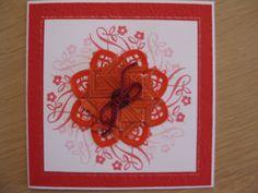 Stamping gear , spellbinders and tea bag folding