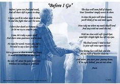 """R.I.P. ALL PETS <3   """"BEFORE I GO""""  (Poem for loss of pet) For Stoggie...Ashes... Socks... Rocco. We love you & miss you ❤"""
