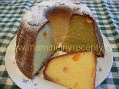 Jogurtová bábovka s mandarinkami Bunt Cakes, Food And Drink, Pudding, Treats, Ethnic Recipes, Sweet, Kitchen, Sweet Like Candy, Cooking