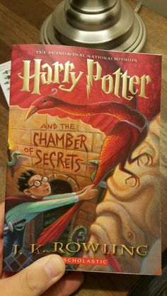 Harry Potter and the Chamber of Secrets - J.K. Rowling.